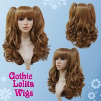Wavy Light Brown Lolita Wig by GothicLolitaWigs
