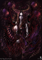 Queen Of Blood by GothmarySkold
