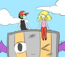 Cave Story In The Sky by iheartramen13
