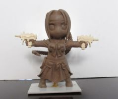 Natsuko Chibi - clay version by Dharker
