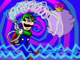 Luigi's mansion 2 : final boss by ruseau