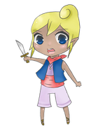 Chibi Tetra by mintgold-sky