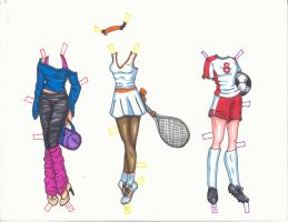 Sport Clothes by kimchi