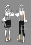 Girl'n'Boy Workout Outfit - unlimited by Nahemii-san