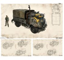 civilian truck FINAL2 by MichalKus