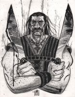 Machete by Andrew-Ross-MacLean