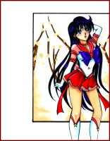 SAILOR MARS by Jouny974