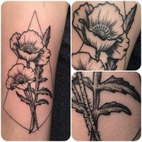 Geo Flower by tat2shippey