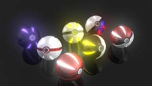 HD Pokeball Wallpaper by napsterking