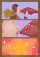 Magic fish 3 by Gogolle