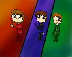 Runawayguys with evil powers? by Anime-Gamer-Girl