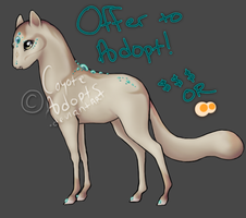 Sandman - Offer to Adopt! [CLOSED] by CoyoteAdopts