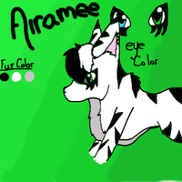 Airamee my character by Brightleaves