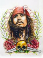 Jack Sparrow by Tabitha138