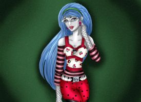 Ghoulia Yelps by kotalee