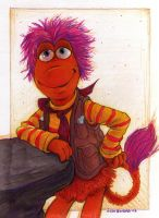 Poster Fraggle by Phraggle
