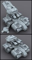Arclite Siege Tank by Jun89