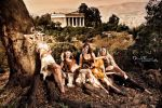 Artemis and Her Retinue of Nymphs (2) by b3designsllc