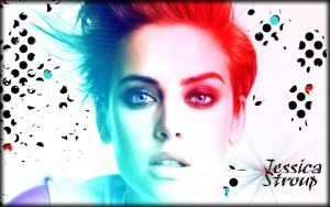 Jessica Stroup Wallpaper by CertainlyLostFameGal