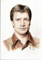 Capt Mal Reynolds - Nathan Fillion Firefly by TheDoThatGirl