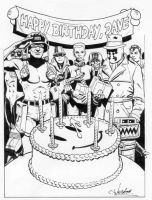 Dave Gibbons tribute by westonfront
