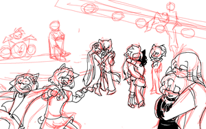valintinees day dance wip by angelamyrose