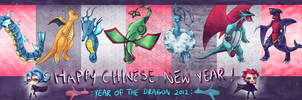 Year of the Dragon Pokemon by Chemical-Exorcist