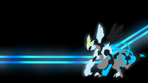 . Pokemon WallPaper . Black Kyurem  . by Flows-Backgrounds