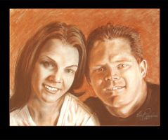 Wedding Portrait Complete by Z-Vincent