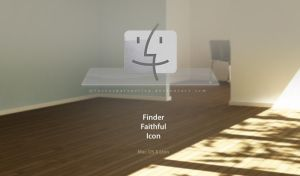 Finder Faithful Icon by luccaspaivasilva