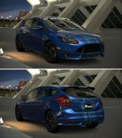 Ford Focus ST 15th Anniversary Edition '13 by GT6-Garage