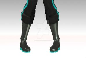 NEW DT mikuo wip 6[shoes and pants] by Akisuky-san