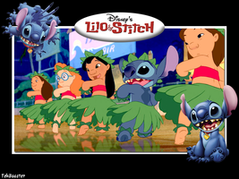 Lilo and Stitch by Boostie