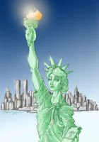 The Lady Liberty by Patrick-Hennings