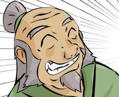 Uncle Iroh colour by razorface123