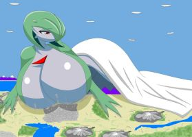 Giga Gardevoir by broku5000