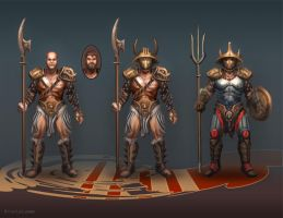 Gladiator Concepts by PigeonKill