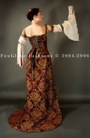 Elizabethan Ensemble Train by FoxGloveFashions