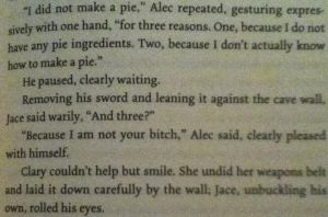 The Mortal Instruments: City of Heavenly Fire by sisterpie21