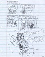 Squid Victorious issue 1 pg 1 by theflamingalberto