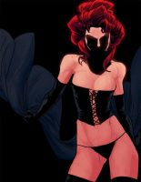 J - is for Jean Grey by anklesnsocks