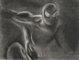 spiderman preliminary drawing by fightingnaturalist