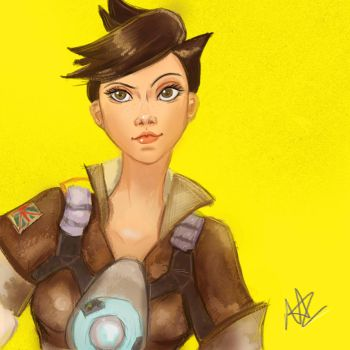 Tracer by silver1ining