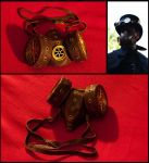 Steampunk Gas Mask by SteamMouss