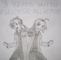 3 years with FMA by MangaX3me
