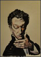 Vincent Cassel by krysyonysh