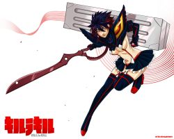 Kill la Kill: Matoi Ryuko by nicoy