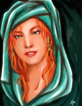 The Fiery Woman by Mannanan