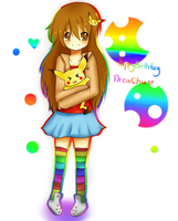 Happy Birthday DreaChu by Lucky-KaiRi