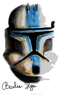 Star Wars Clone Trooper Lieutenant by FoxbatMit